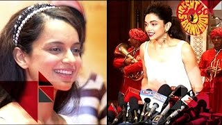 Deepika Padukone Mocks Priyanka & Kangana's Accent | Bollywood News