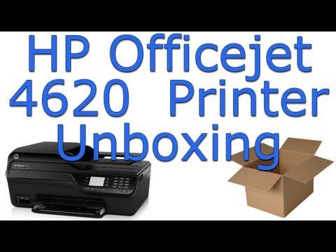 HP Officejet 4620 Printer Unboxing