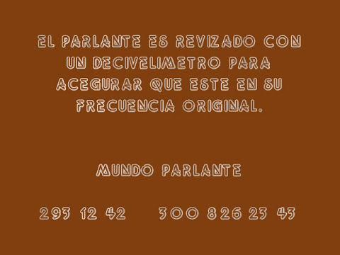 FABRICACION DE BOBINA DOBLE DE PARLANTE JBL DE NEODIMIO. MP AUDIO - MUNDO PARLANTE MEDELLIN