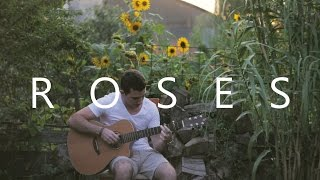 Download Lagu Roses - The Chainsmokers (fingerstyle guitar cover by Peter Gergely) Gratis STAFABAND