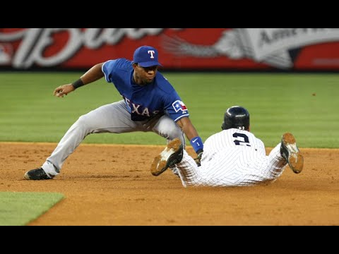 Texas Rangers shortstop Elvis Andrus calls New York Yankees Derek Jeter an idol