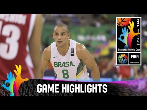 Brazil v Iran - Game Highlights - Group A - 2014 FIBA Basketball World Cup
