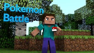 A Pokemon Battle - Minecraft Animation