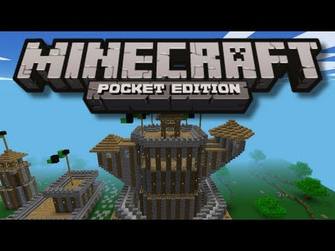 Medieval Village - Minecraft Pocket Edition Map Review