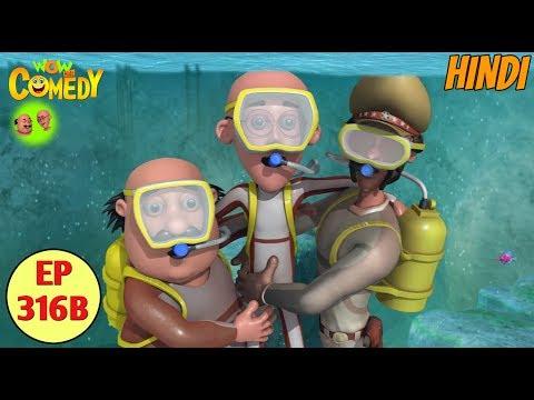 Motu Patlu | Cartoon in Hindi | 3D Animated Cartoon Series for Kids | John The Jaldev thumbnail