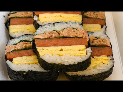 Spam Musubi / Korean Street Food / Suncheon Food Art Festival, Suncheon Korea