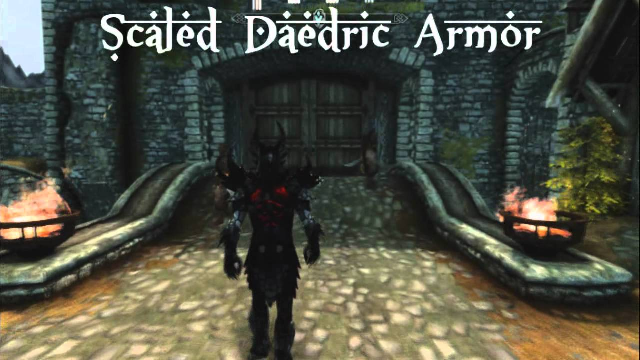 Daedric Armor Skyrim Mods Ebony Mage...