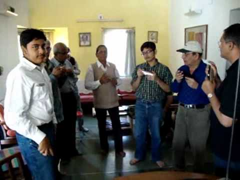 Harmonica Club of Gujarat - Practice session