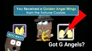 Opening 50 Fortune Cookies! GOT G ANGELS!?   Growtopia 10.12 MB