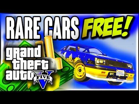 "GTA 5 Online: RARE FREE CARS 1.26 ""Secret Rare Vehicles"" ""Rare Cars"" (GTA 5 Cars Guide)"