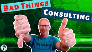 10 bad things about consulting, why it might not be for you