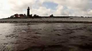 Fiskevand/ Djursland/ Fornæs Fyr/ Kystfiske-Anmeldelse m. Testdyk