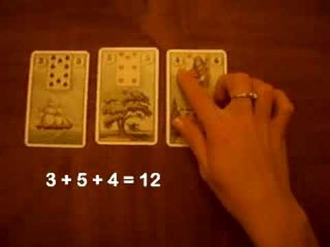 How to read Lenormand Cards I