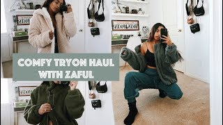 Comfy Try On Haul With Zaful