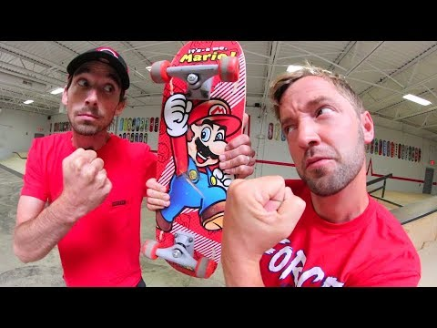 $5 Skateboard Game Of  S.K.A.T.E. / Andy Schrock VS Alex Buening