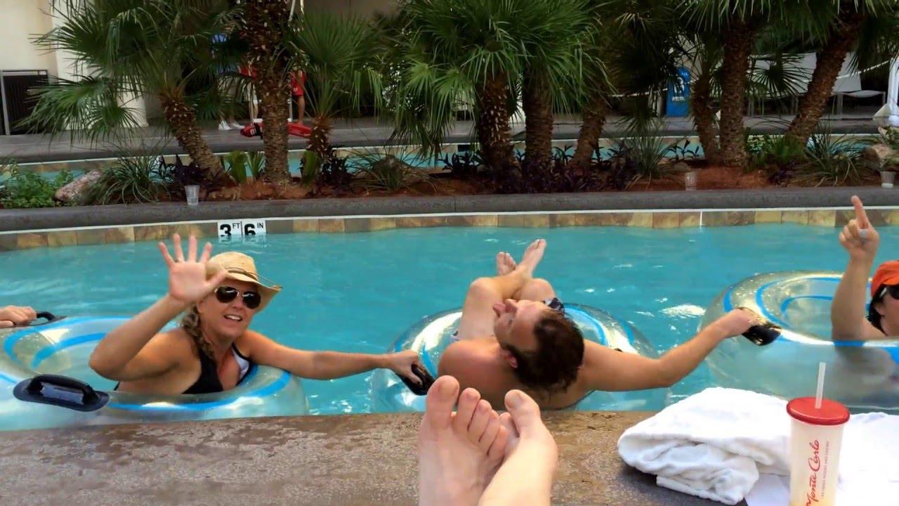 Monte Carlo Hotel Pool Monte Carlo Pool Lazy River