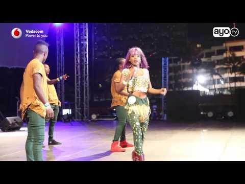 Vanessa Mdee alivyotumbuiza Mombasa Rocks Music Festival