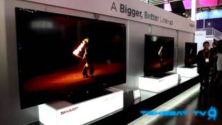 Super OLED, ICC 4K, World's First 8K, and 80 TV's at CES 2012