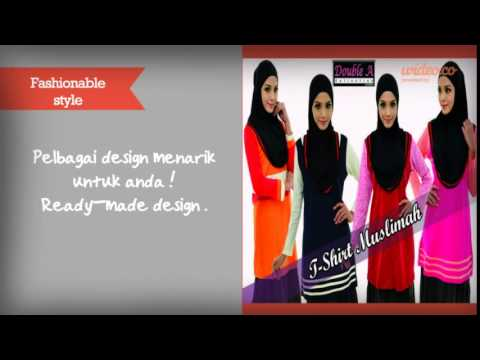 (Butik Muslimah) Double A Collection .