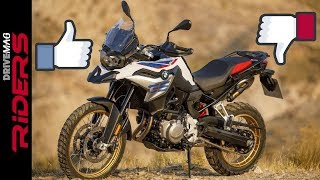 BMW F850GS. What I Love and what I Hate