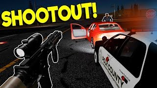 POLICE SHOOTOUTS & ARREST IN VR! - Police Enforcement VR Gameplay - Oculus VR Game