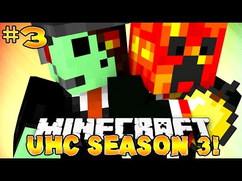 Minecraft UHC Season 3 ZOMBIE SPAWNER #3 with Preston PeteZahutt