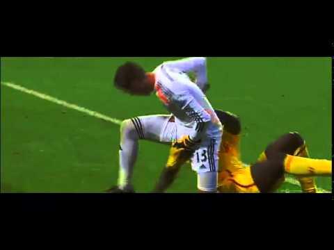 Mario balotelli Fights with West Ham Utd Goalkeeper   Liverpool vs West Ham Utd 20/19/14 HD