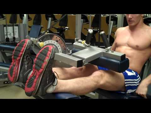 How To: Seated Leg Curl (Cybex) Image 1