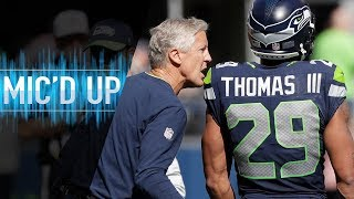 "Pete Carroll Mic'd Up vs. Cowboys ""Ref Just Told Me Can You Keep Your Guy From Flexing?"" 