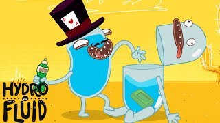 HYDRO and FLUID | Magic Trick | HD Full Episodes | Funny Cartoons for Children