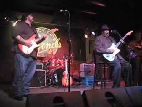 Nick Moss with Magic Slim at Buddy Guy's Legends 2