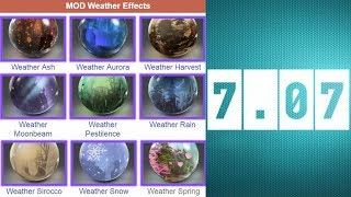 How to MOD Weather Effects Dota2 7.07 Patch work with all Terrains