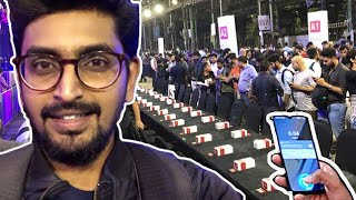 World Record by Technical Guruji l My LIVE Experience at OnePlus 6T Unboxing:World Record Attempt