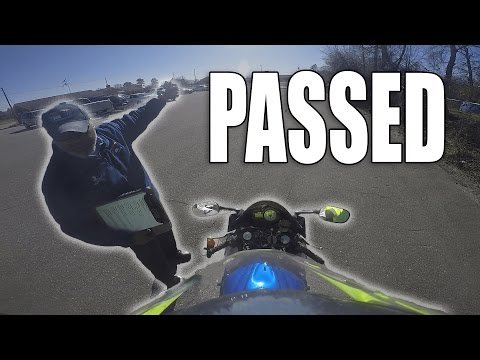 How to Pass North Carolina Motorcycle Skills Test EASY!