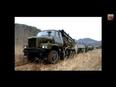 North Korean Ballistic Missiles & Artillery vs USA