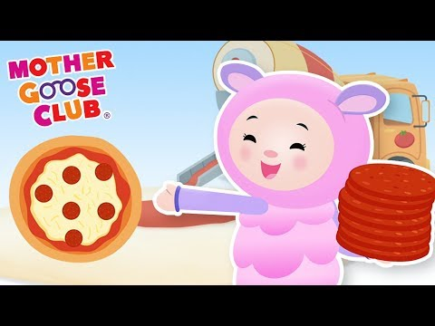 Songs for Kids - Making Pizza | Nursery Rhymes from Mother Goose Club! Kids Play Video | Children