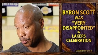 Byron Scott Sides With Kobe's Reaction On Jimmy Kimmel,  'Disappointed' In Lakers Celebration