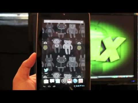 Nexus 7 Paranoid Android Full Tablet UI Mode + Hybrid and More [FULL REVIEW]