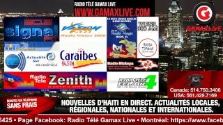 (Gamax Live) •18 NOVEMBRE 2018•ZENITH FM HAITI LIVE•SOU TOUT REZO YO •