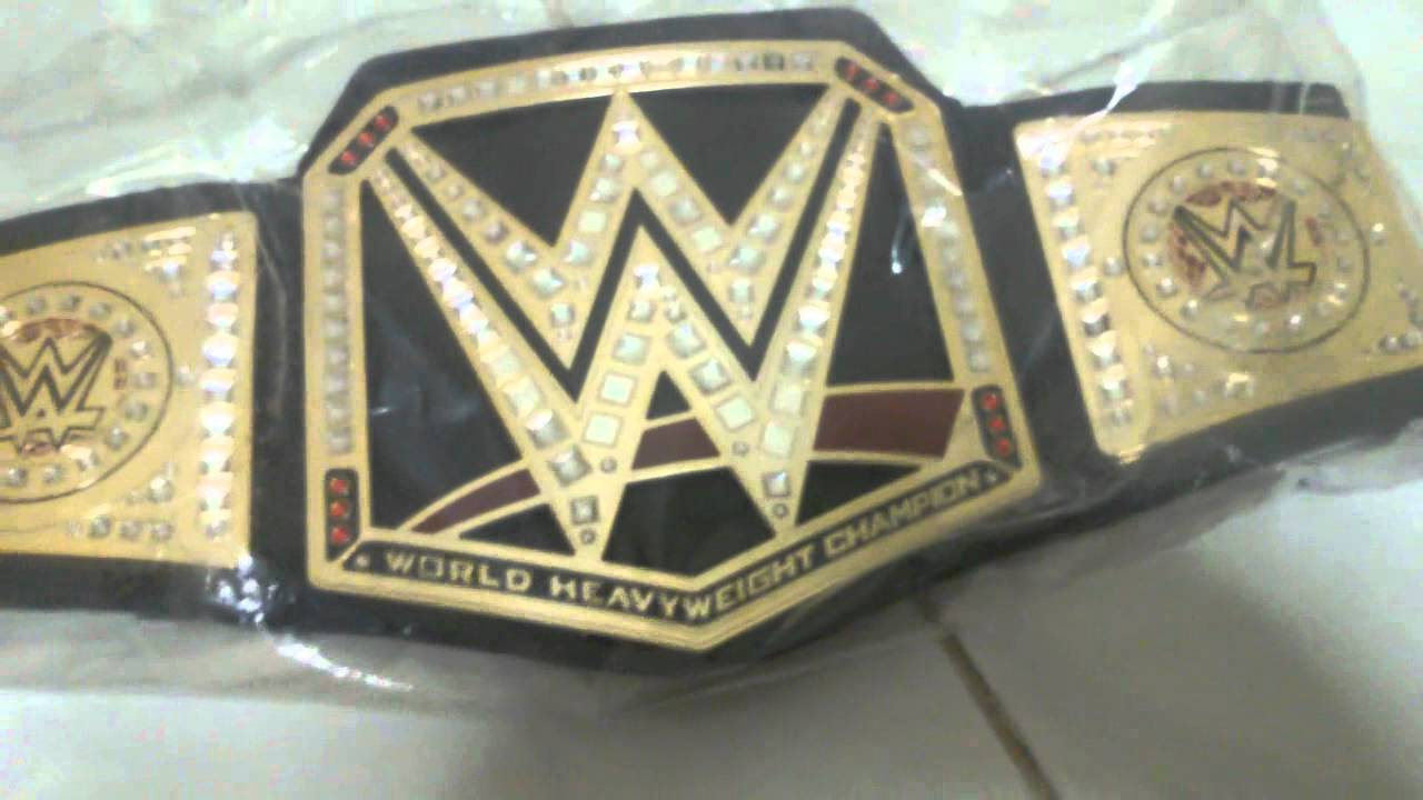 Wwe World Heavyweight Championship Belt 2014 WWE World Heavyweight