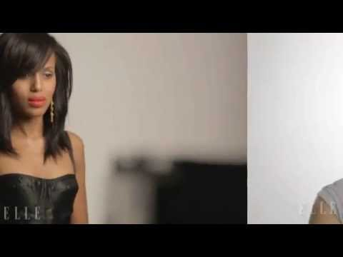 Kerry Washington Elle June 2013 Cover Shoot - Behind the Scenes Video