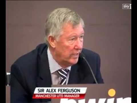 Sir Alex Ferguson, Wayne Rooney and Rio Ferdinand's reaction to Van Persie joining Man Utd