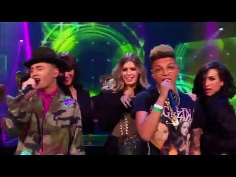 Vinchenzo Tahapary en Ronnie Flex – Energie - The Voice of Holland 2017 | The Final