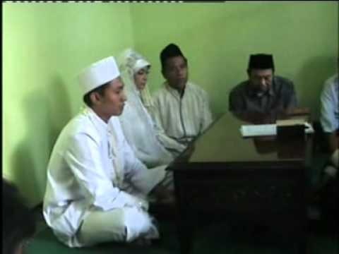 Khoiron   F Khutbah Nikah dalam pernikahan Muammar Khoiron dg...