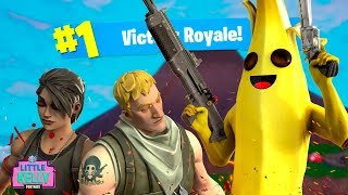 PEELY THE BANANA ORIGIN STORY | Fortnite Season 8 | Short Film