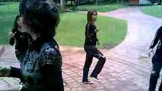 Jablay lela anjani n her dancers training