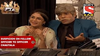 Billu and Gopi solving the case of suspicion on fellow officer to Officer Chautala