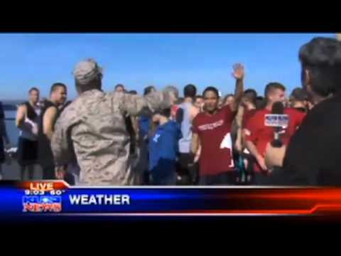San Diego KUSI live coverage of EX 4 Vets III Part 3