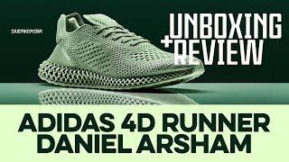 UNBOXING+REVIEW - Adidas 4D Runner 'Daniel Arsham'