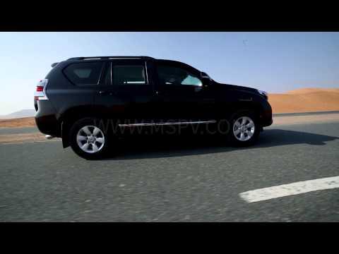 Armoured Toyota Land Cruiser Prado | Armored Cars In Africa | UAE | Egypt | Kenya | Sudan |  Nigeria